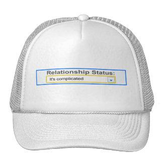 Situación de la relación ha complicado diseño gorros bordados