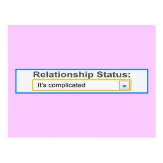 Situación de la relación ha complicado diseño postales