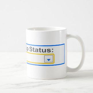 Situación de la relación ha complicado diseño taza
