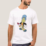 Situación del grillo de Disney Pinocchio Jiminy Playera