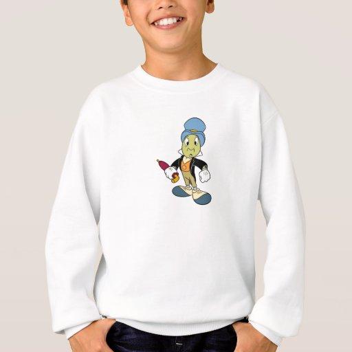 Situación del grillo de Disney Pinocchio Jiminy Sudadera
