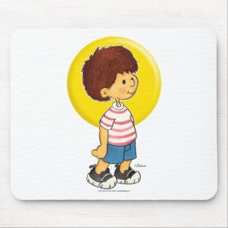 Situación del muchacho mouse pad