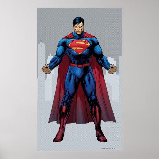 Situación del superhombre póster