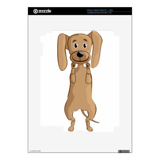 situación divertida del perro calcomanía para el iPad 2