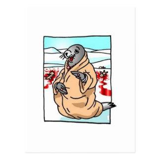 Situación invertida tarjetas postales