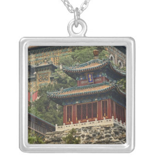 Situated in the outskirts of Haidian District, Square Pendant Necklace