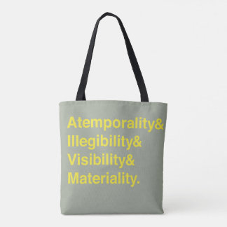Situated Systems tote bag (Yellow/Grey)