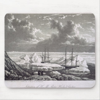 Situation of H.M. Ships Hecla & Griper from the 17 Mouse Pad