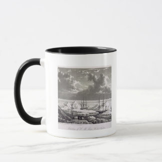 Situation of H.M. Ships Hecla & Griper from the 17 Mug
