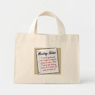 Situational Analysis Mini Tote Bag