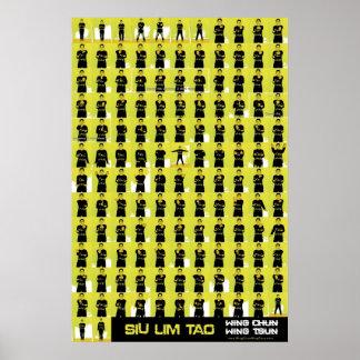 Siu Lim Tao Yellow Poster
