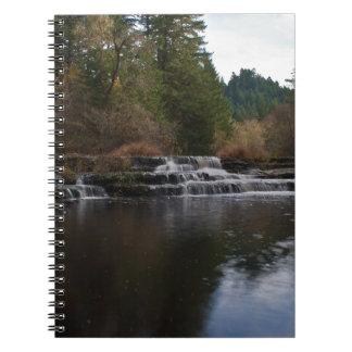 Siuslaw baja Oregon Libros De Apuntes Con Espiral