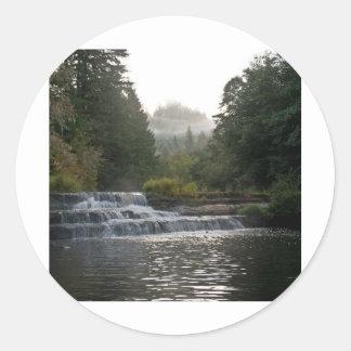 Siuslaw Falls Classic Round Sticker