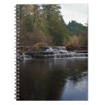 Siuslaw Falls Oregon Spiral Notebooks