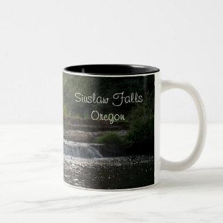 Siuslaw Falls Two-Tone Coffee Mug