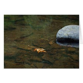 Siuslaw River, Oregon Card