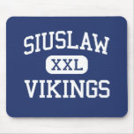 Siuslaw - Vikings - High School - Florence Oregon Mouse Pad