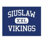 Siuslaw - Vikings - High School - Florence Oregon Postcard