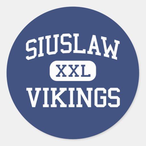 Siuslaw - Vikings - High School - Florence Oregon Stickers