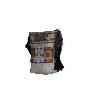 Siux gotearon el bolso bolsa de mensajería