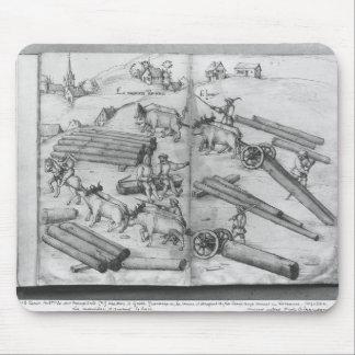 Siver mine of La Croix-aux-Mines, Lorraine Mouse Pad
