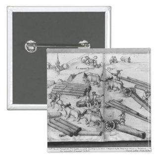 Siver mine of La Croix-aux-Mines, Lorraine Pinback Button