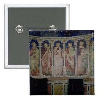 Six Apostles, c.1390 (fresco) Button