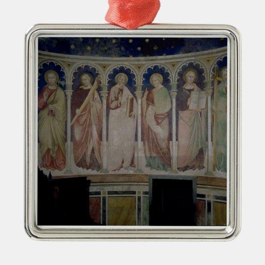 Six Apostles, c.1390 (fresco) Metal Ornament
