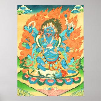 Six-Armed Mahakala Poster