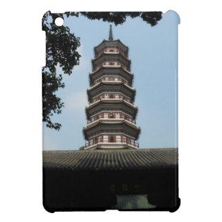 six banyan trees pagoda temple iPad mini cases
