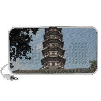 six banyan trees pagoda temple mp3 speakers