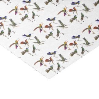 """Six Beautiful Hummingbirds 10"""" X 15"""" Tissue Paper"""