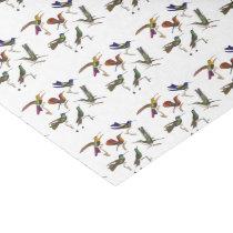 Six Beautiful Hummingbirds Tissue Paper