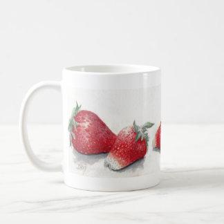 Six Big Strawberries Mug