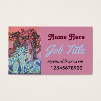 six cats business cards