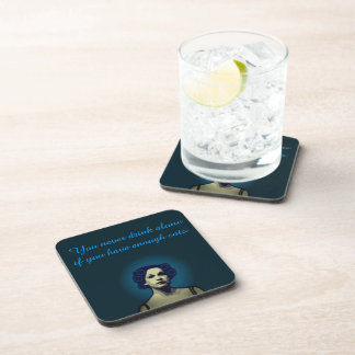 Six coasters.  Let's have a drink together. Beverage Coaster