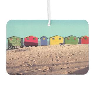 Six Colorful Beach Hut | Cape Town, South Africa Air Freshener