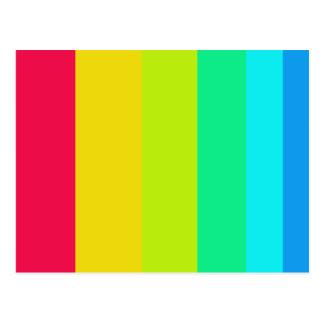 Six Colors Postcard