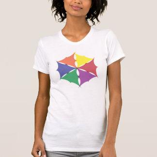 six colors puckered shirt