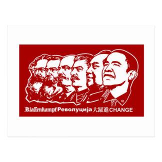 Six Communists Postcard