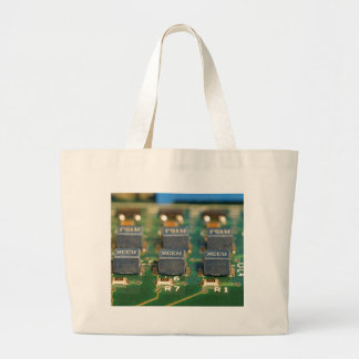 Six Computers Chips Circuits Tote Bags