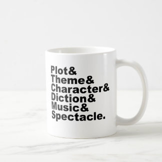 Six Element of Poetics and Drama by Aristotle Coffee Mug