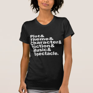 Six Element Of Poetics And Drama By Aristotle T Shirt