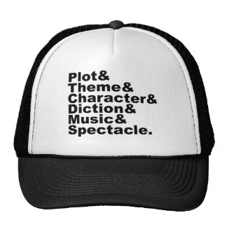 Six Element of Poetics and Drama by Aristotle Trucker Hat