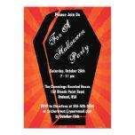 "Six Feet Under Halloween Invitation 5"" X 7"" Invitation Card"