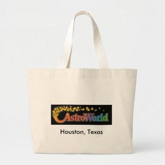 Six Flags Astroworld Amusement Park (HoustonTexas) Canvas Bag