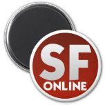 Six Flags Online Megnet Magnets