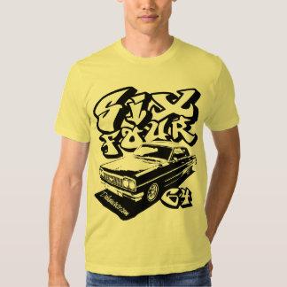 Six Four (crisp black) T Shirt