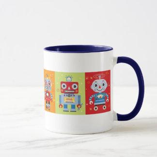 Six Fun Robots Mug
