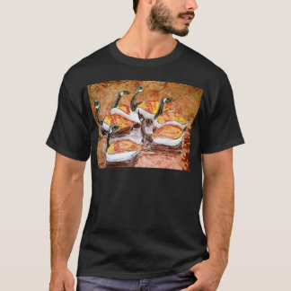 Six Geese A Laying T-Shirt